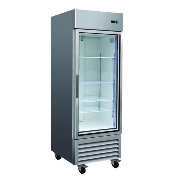 1 Door Glass Refrigerator