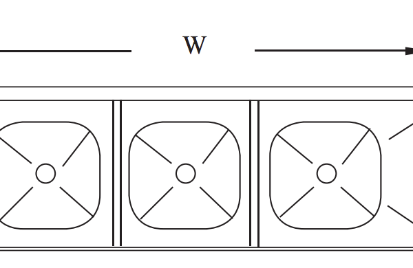 3 bowl sink width and depth measurements