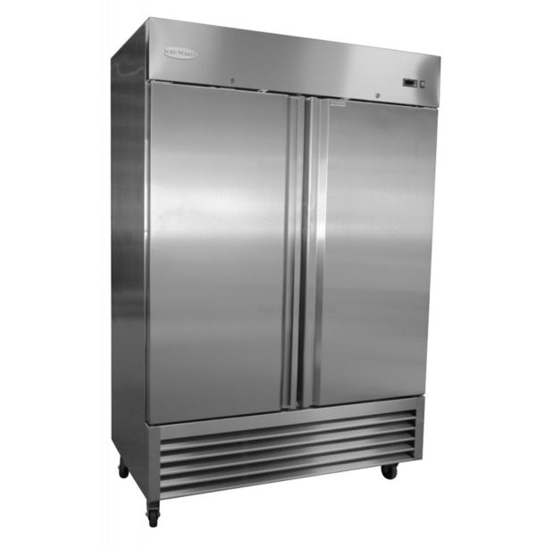 2 Door Reach in Refrigerator/Freezer
