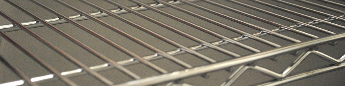 Chrome Wire Shelving