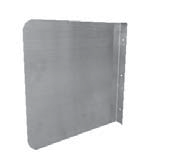 Fryer Wall Splash Guard
